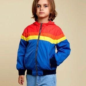 Hundred Pieces windbreaker jacket 8 NWT